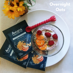 Toddler Overnight Oats-Amara Organic Foods