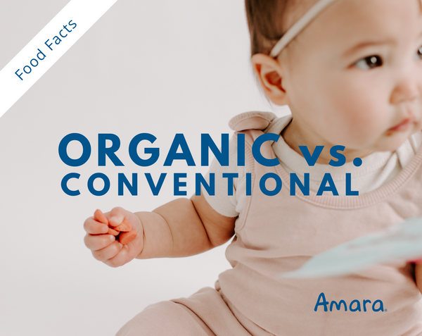 organic vs conventional baby food