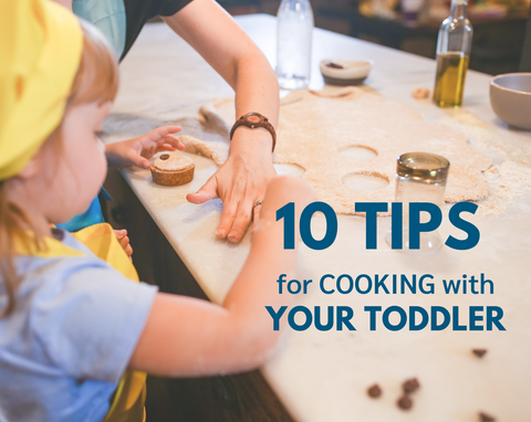 10 tips for cooking with your toddler