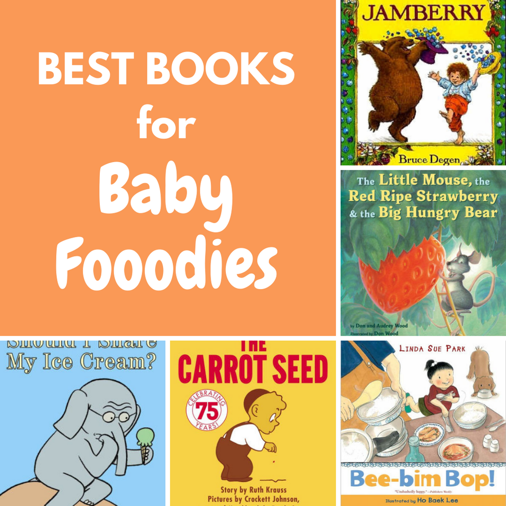 best books about food for babies