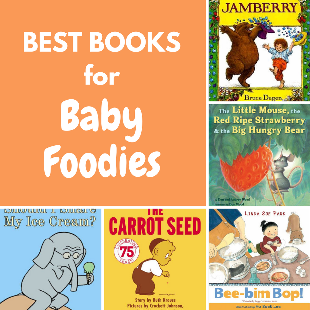 best baby books about food