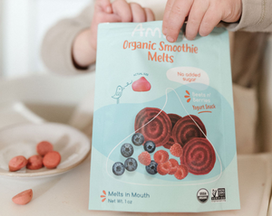 Yogurt Smoothie Melts, Beets n' Berries, (6 pack) - Amara Organic Foods