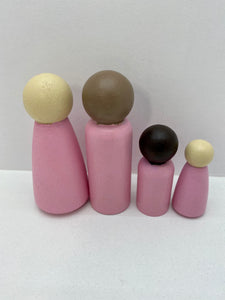 Light Pink Peg Doll's