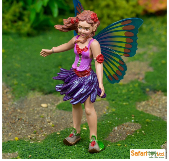 Safari violet fairy child fantasy play toys