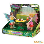 Safari fairy tea party set child fantasy play toys