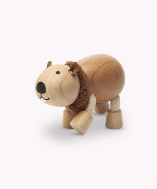 Australian Animals toys timber, timber toys, wombat sustainable