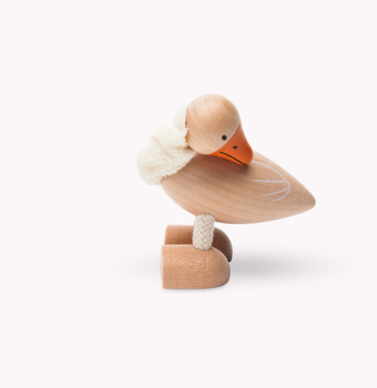 Anamalz, wooden Animals sustainable natural timber goose
