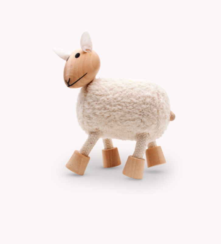 Anamalz, wooden Animals sustainable natural timber sheep