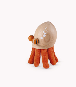 Anamalz, wooden Animals sustainable natural timber octopus