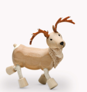 Anamalz, wooden Animals sustainable natural timber reindeer