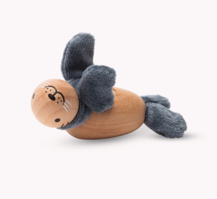 Anamalz, wooden Animals sustainable natural timber seal