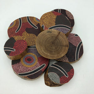 Aboriginal Indigenous Australian timber toys sustainable Mens Ceremony