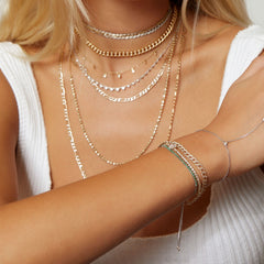 Everyday Three-Diamond Hand Chain