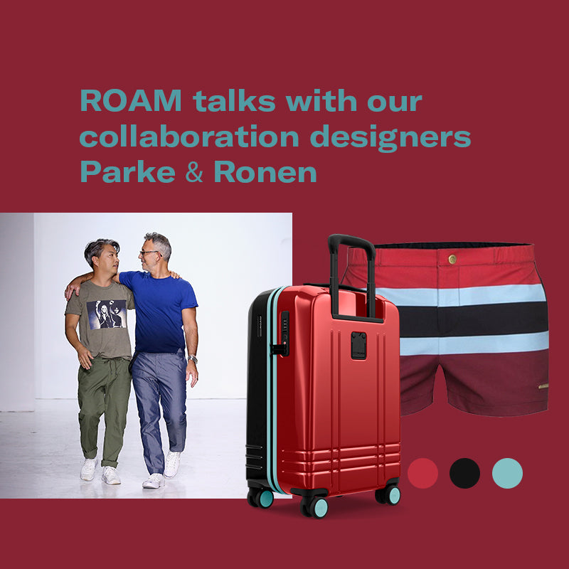ROAM Talks with our collaboration designers Parke & Ronen