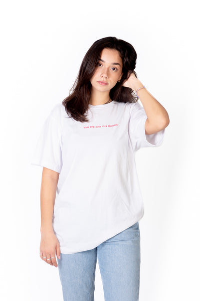 T-SHIRT UNISEXE BLANC GOOD FORTUNE