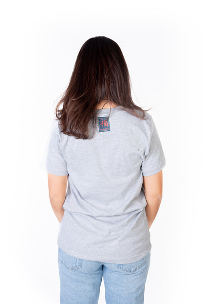 T-SHIRT HEATHER GREY GOOD FORTUNE UNISEX