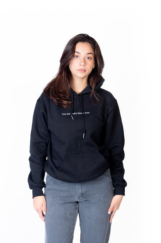 HOODIE BLACK GOOD FORTUNE