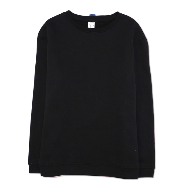 CREWNECK RECYCLE DENIM NOIR