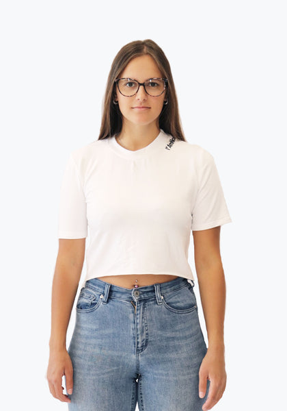 "CROP TOP T-SHIRT I ""AmNot"" a Standard"