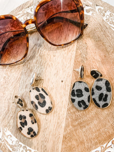 Cheetah Earrings