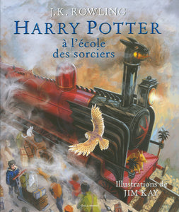 Harry Potter, Tome 1 : Harry Potter à l'Ecole des Sorciers - Edition illustrée
