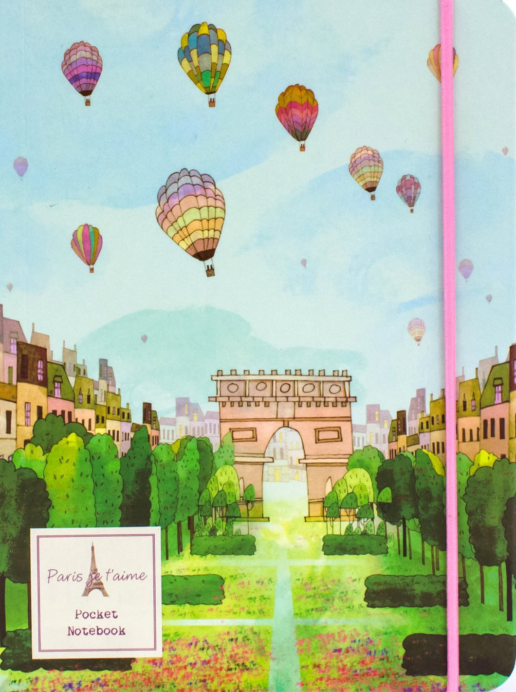 Paris je t'aime: Pocket Notebook