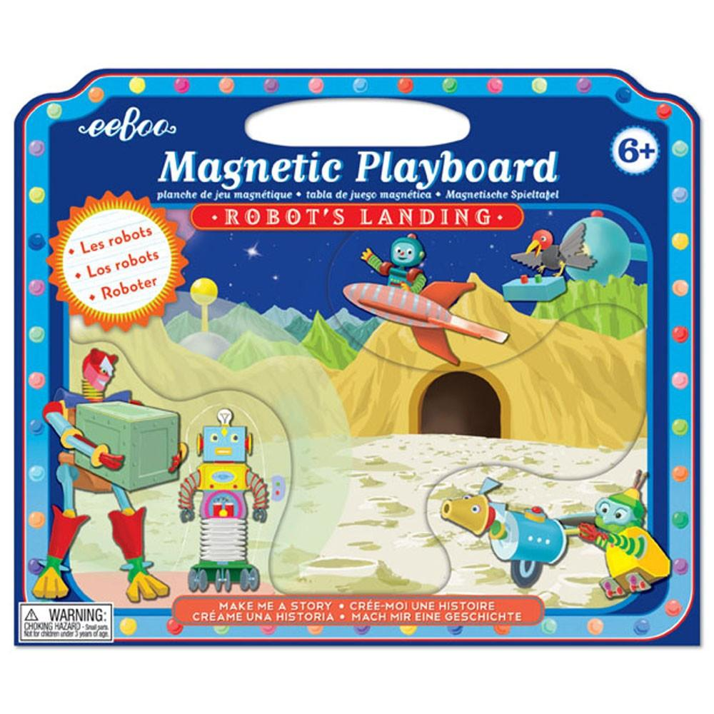 eeBoo Magnetic Playboard Robot's Landing Make me a Story