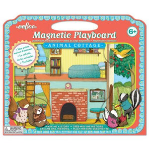 eeBoo Magnetic Playboard Animal Cottage Make me a Story