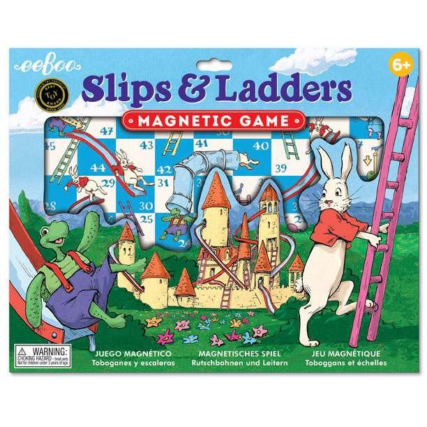 eeBoo Slips & Ladders Magnetic Game