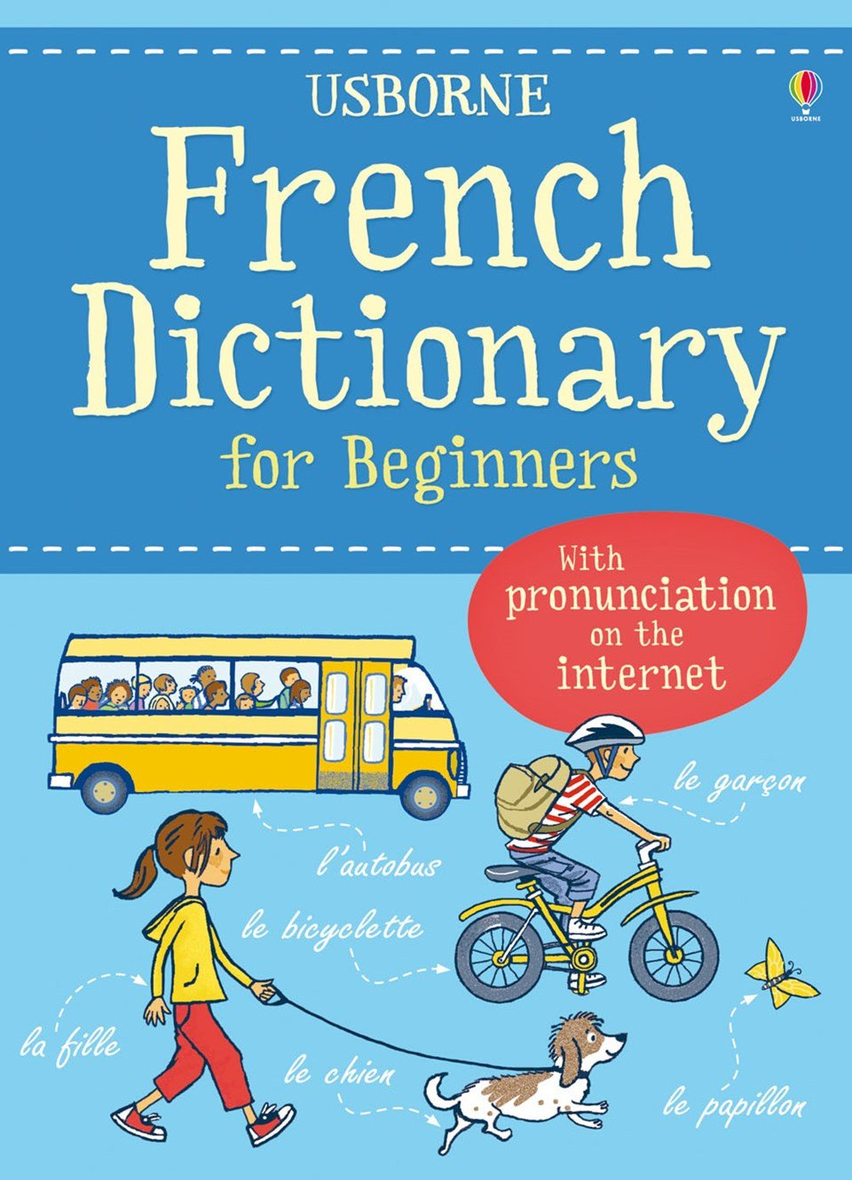 French Dictionary for Beginners - Usborne