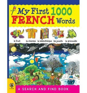 My First 1000 French Words - A Search And Find Book