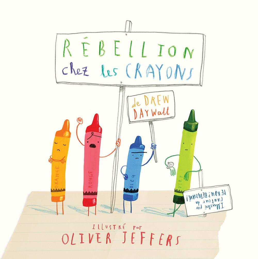 Rebellion chez les crayons - Hardcover
