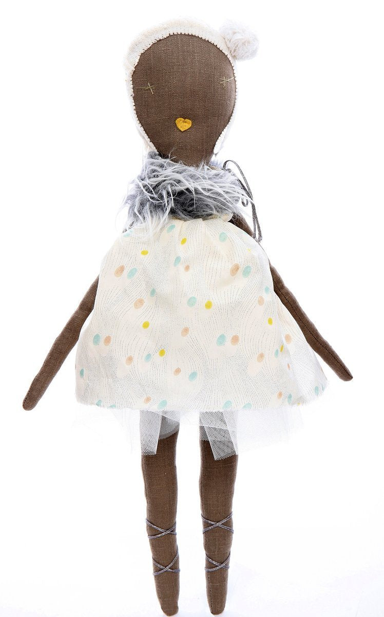 Agatha - Jess Brown rag doll