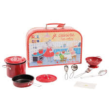Je cuisine - I am cooking Valise