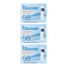 iGlucose® Test Strips, 3-Pack of 50 Count (US)