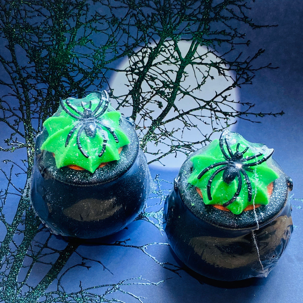Load image into Gallery viewer, Witch's Secret Potion Pot - Bath Bomb-Delicate blaze