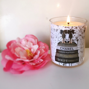 Designer Luxury Soy Candle - 300g-Delicate blaze