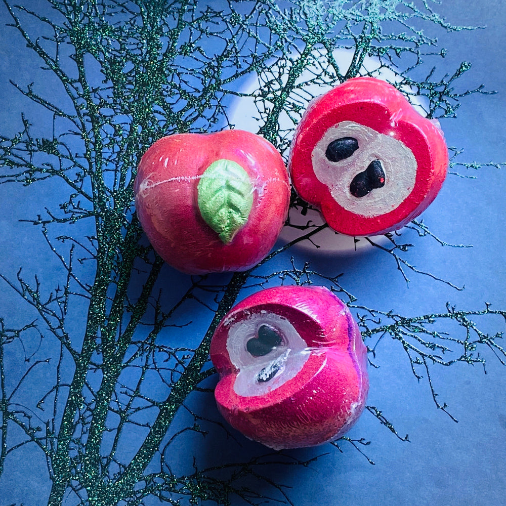 Load image into Gallery viewer, Poison Apples - Bath Bomb Pk of 3-Delicate blaze