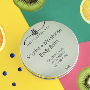 Load image into Gallery viewer, Soothe + Moisturise Body Balm - 100g-Delicate blaze