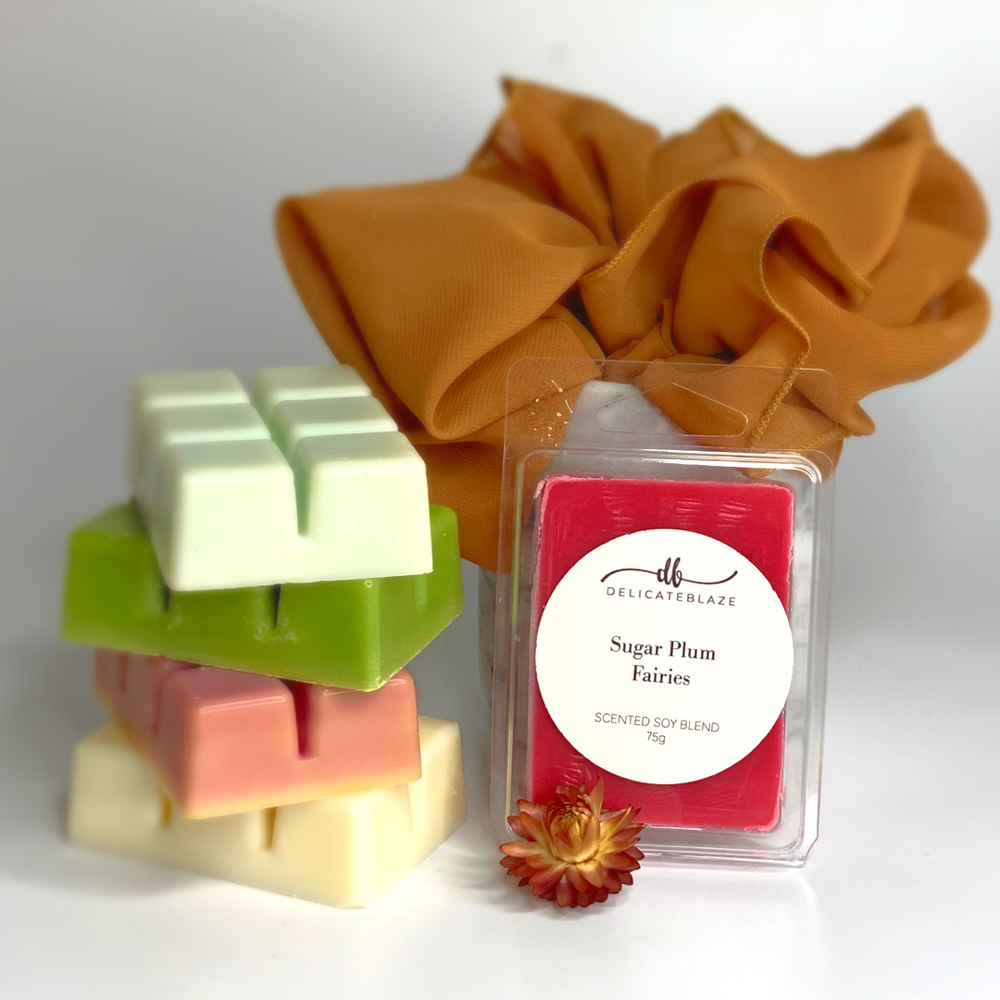 6 Cube Wax Melts Pack-Delicate blaze