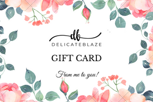 Gift Card-Gift Card-Delicate blaze