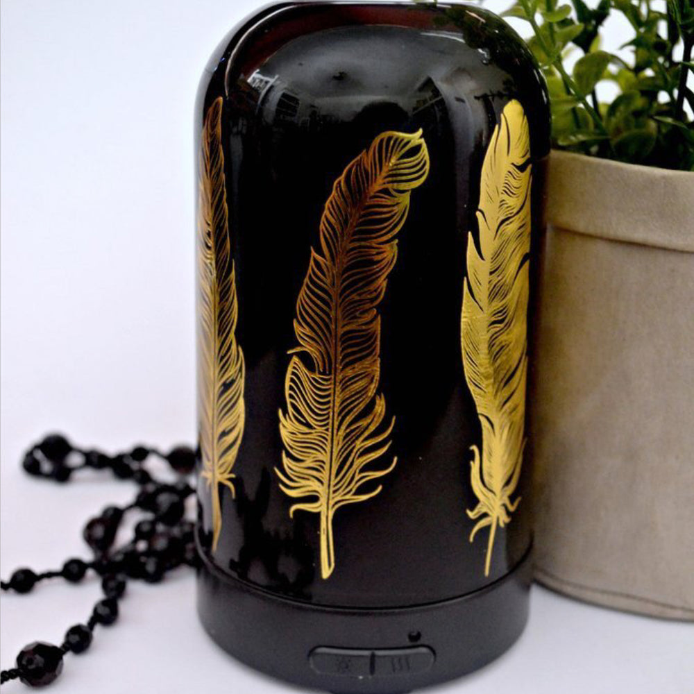 Tribal Feathers - Ultrasonic Diffuser-Delicate blaze