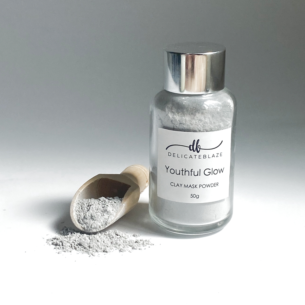 Load image into Gallery viewer, Youthful Glow Clay Mask Powder - 50g-Delicate blaze