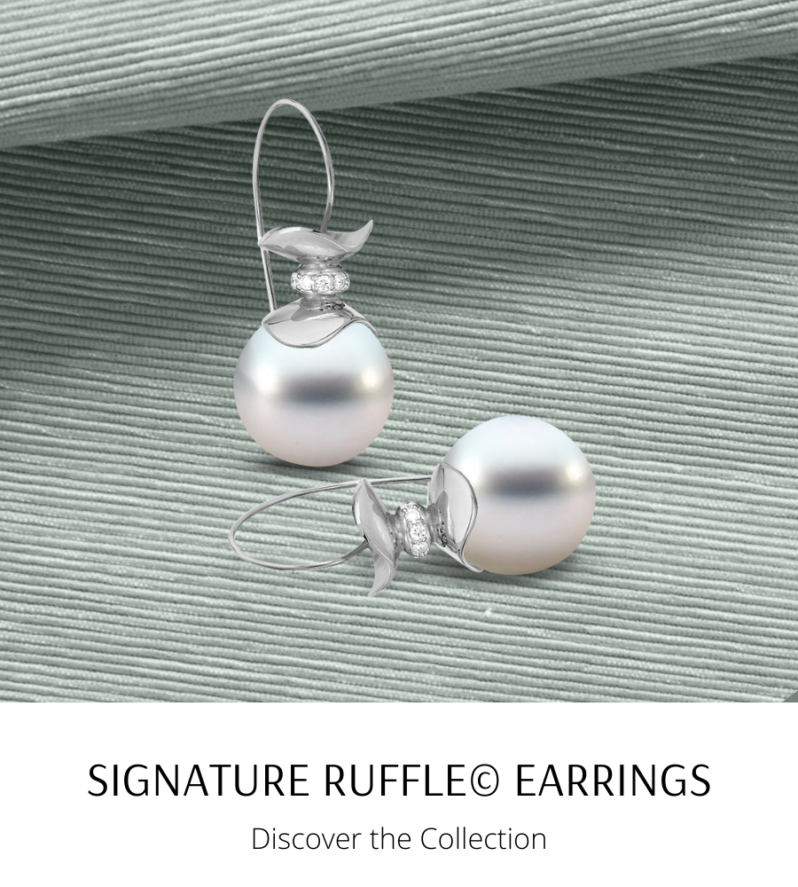 Signature Ruffle©️ Earrings- Ashleigh Branstetter®️