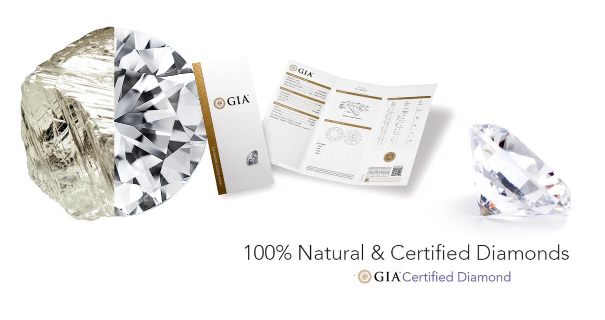 100% Natural and Certified GIA Diamonds- Ashleigh Branstetter®️