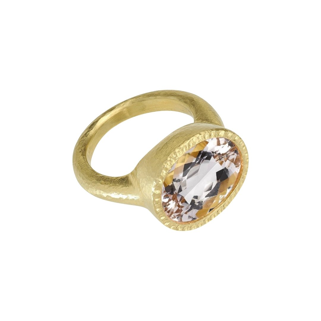 Calliope Morganite Ring - Ashleigh Branstetter®