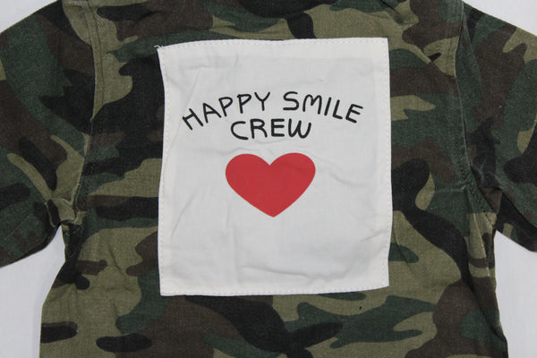 Happy Smile Crew Jacket