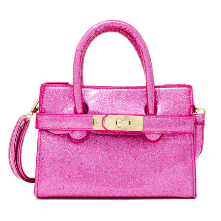 Patent Mini Bag Pink