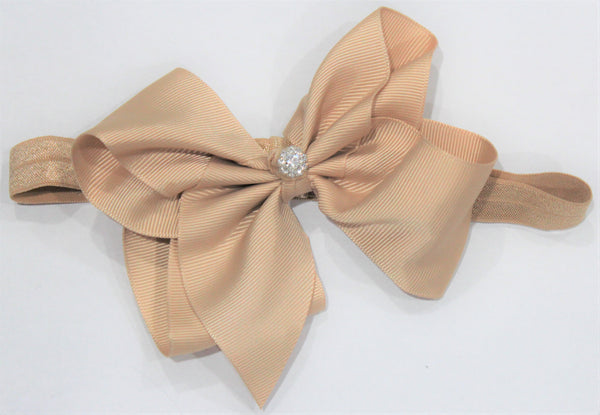 Elastic Bow Headband