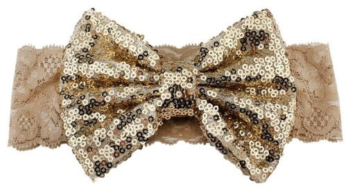Lace Bow Headband